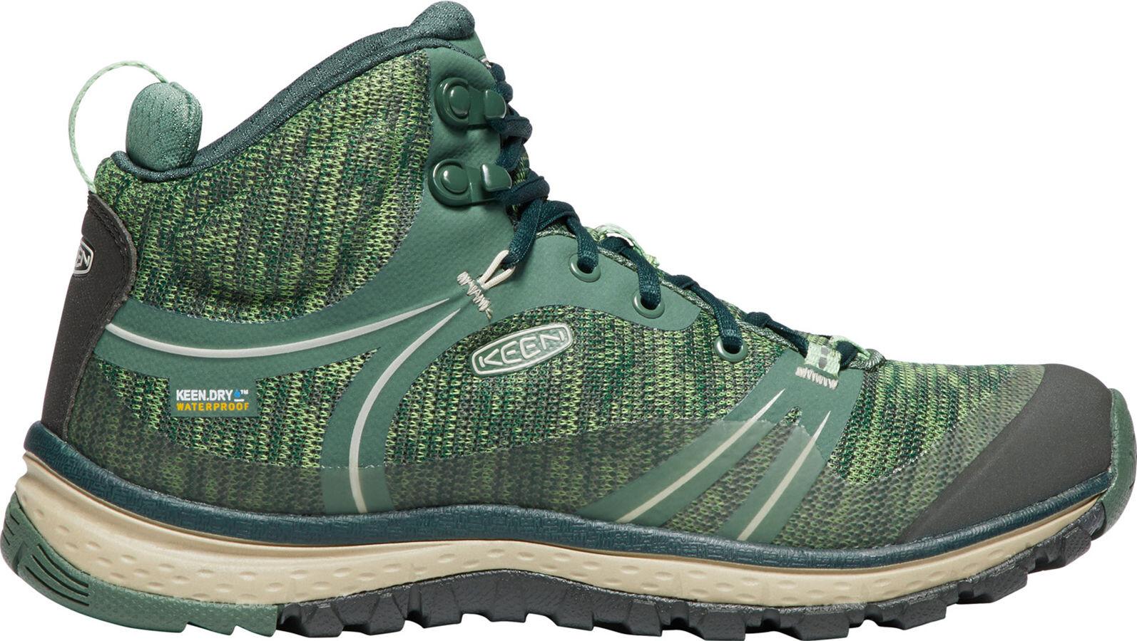 Keen Terradora WP - Calzado Mujer - verde  effd1ff88c0